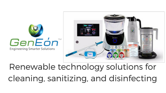 GenEon Chemical Free Cleaning and Disinfecting Technology
