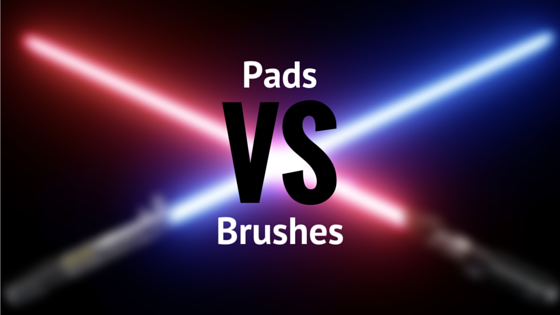automatic floor scrubber pads vs floor scrubber brushes