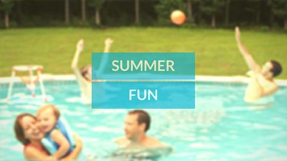 fun summer time swimming pool games