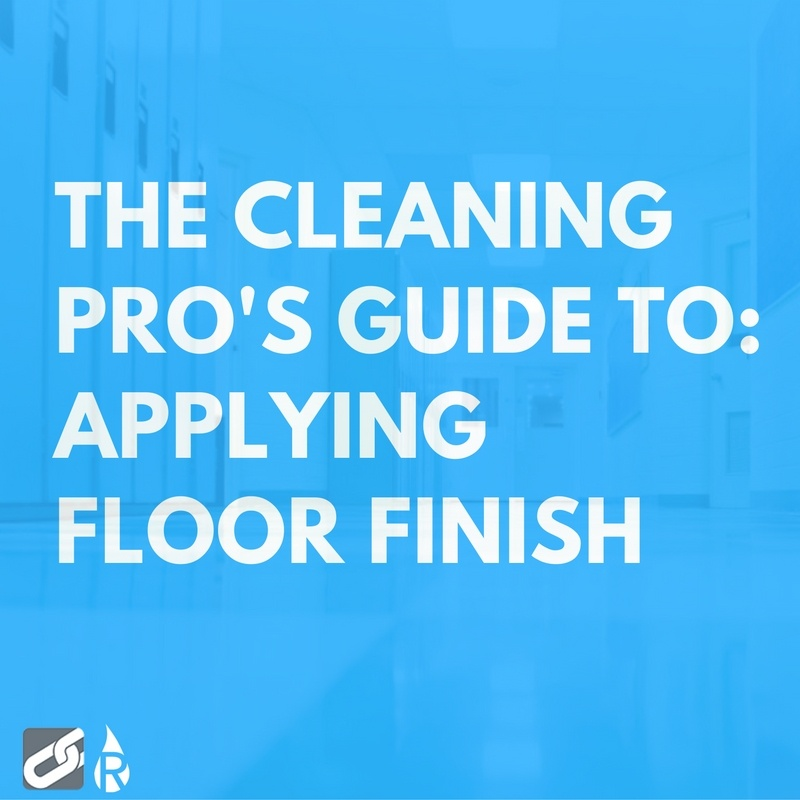 guide to applying floor finish